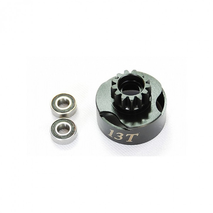 Alpha Clutch Bell Vented 13T mit Lager
