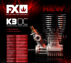 Hudy FX DC21 -3 Kanal High End Buggy Motor