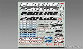 ProLine Team Sticker B&W