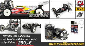 S12-1M(Super Combo)+Tenshock Motor+Farbe