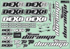 TD490036-DEX8 DECAL SHEET