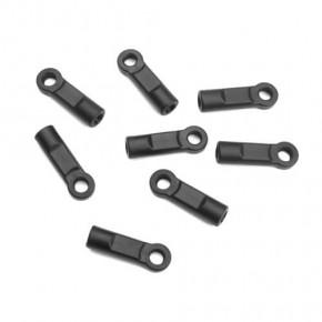 TKR5187-Rod Ends (straight, 6.8mm, EB/NB/ET/NT48, 8pcs)