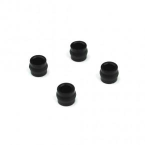 TKR6007-Shock Cap Bushings (4pcs, EB/NB/ET/NT/SCT)