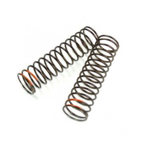 TKR8773-LF Shock Spring Set (rear, 1.6×14.5, 2.75lb/in, 85mm, orange)
