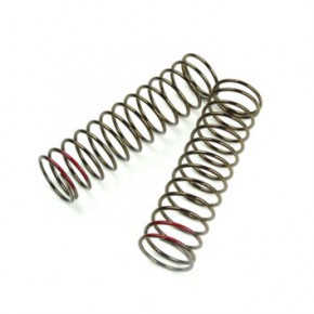 TKR8774-LF Shock Spring Set (rear, 1.6×13.7, 2.94lb/in, 85mm, red)