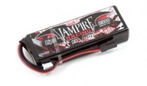 Vampire Racing 2300mAh 7.4V LiPo RX Straight Pack