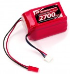 LiPo 7,4V, 2700mAh, 2/3A Hump Size, Empfängerpack (EH)