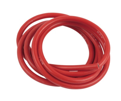 Siliconkabel 90 cm rot