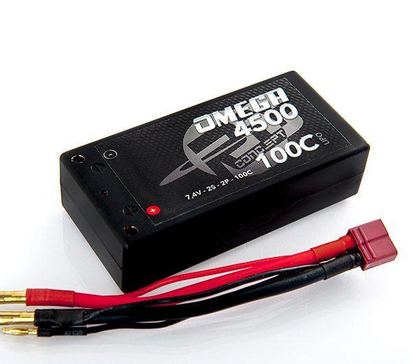 RC Concept Omega Lipo Akku 4500 mAh 2S/ 7,4V -100C -4500mAh (Shorty)
