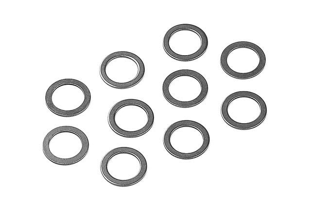 XRAY Unterlagscheibe - 7x10x0.5mm (10 Stück)