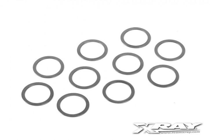 XRAY Unterlegscheiben 16x20x0.5mm (10 Stück