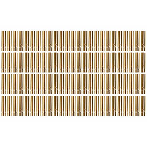 YUKI MODEL Goldkontakt Ø4,0mm Lötkelch geschlossen 5 Stück Buchsen