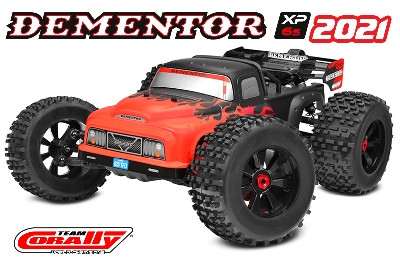 Team Corally - DEMENTOR XP 6S - Model 2021 - 1/8 Monster Truck SWB - RTR