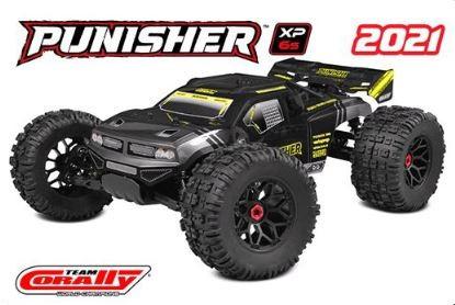 TeamCorally-PunisherXP6S-1/8 Monster Truck LWB - RTR - Brushless Power 6S