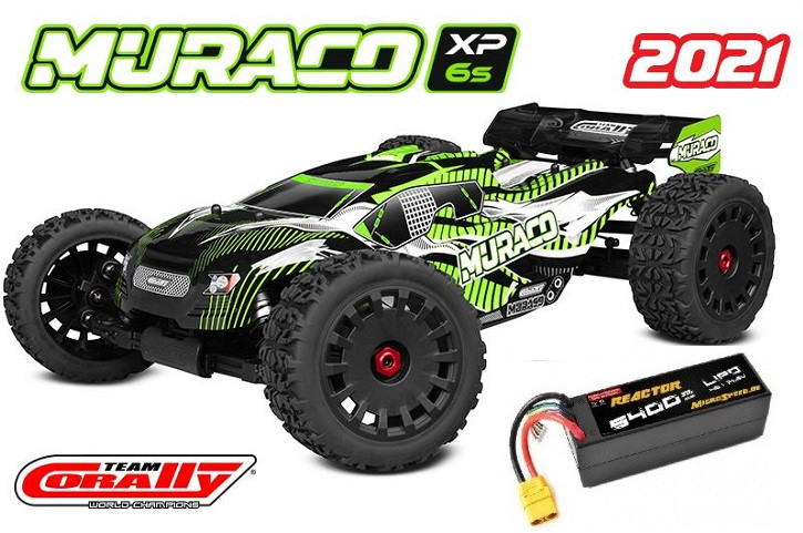 Team Corally Mucaco XP 6S Top Deal mit Akku -Model 2021 - 1/8 Monster Truck LWB - RTR