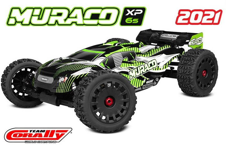 Team Corally - MURACO XP 6S - 1/8 Truggy LWB - RTR - Brushless Power 6S - No Battery - No Charger