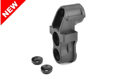 Team Corally - HD Steering Block - Pillow Ball Cup (1) - Front - Composite - 1 Stück