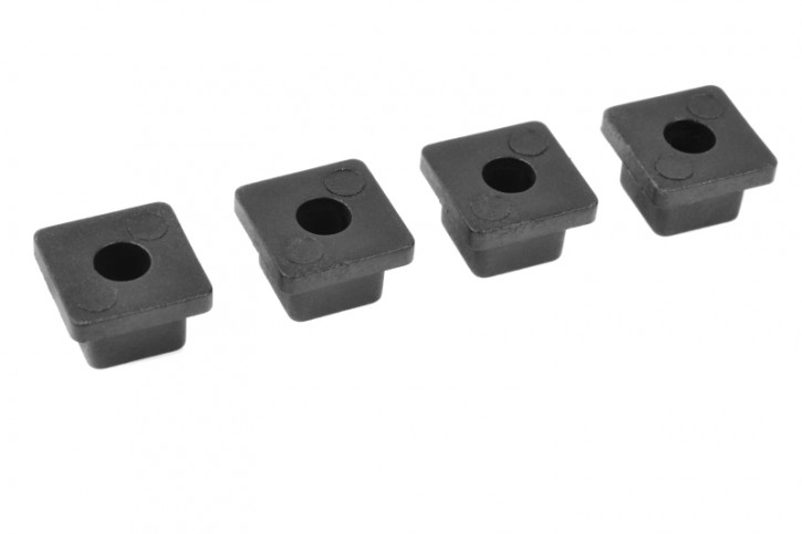 Team Corally - Bushings Set - 0 Deg - Composite - 1 Set