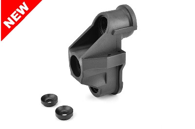 Team Corally - HD Steering Block - Wide - Pillow Ball Cup (1) - Front - Composite - 1 Stück