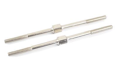Team Corally - Turnbuckle - M4 - 92mm - Spring Steel - 2 pcs