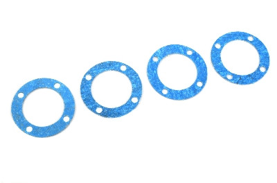 Team Corally - Diff. Gasket for Front and Rear diff 30mm - 4 Stück