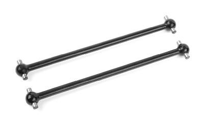 Team Corally - Dogbones - Short - 2021 Model - Rear - Steel - 2 pcs