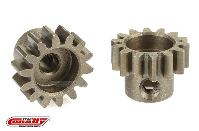 Team Corally - 32 DP Motorritzel - Stahl gehärtet - 14 Zähne - Welle 3.17mm