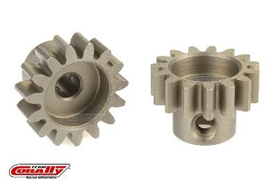 Team Corally - 32 DP Motorritzel - Stahl gehärtet - 15 Zähne - Welle 3.17mm