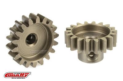 Team Corally - 32 DP Motorritzel - Stahl gehärtet - 18 Zähne - Welle 3.17mm