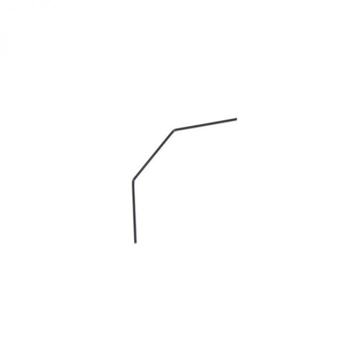 ANTI ROLL-BAR FRONT 1.4MM (BLACK)
