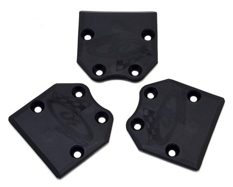 DE Racing Rear Skid Plates Tekno RC EB48.4 / NB48.4