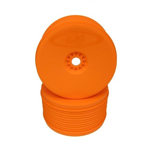 DE Racing Speedline Plus Truggy Felge 1/8 Truggy / Orange / 2pcs