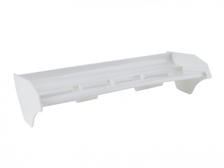 E01038-Mugen MBX-7 Spoiler weiss als gebohrte Ausführung