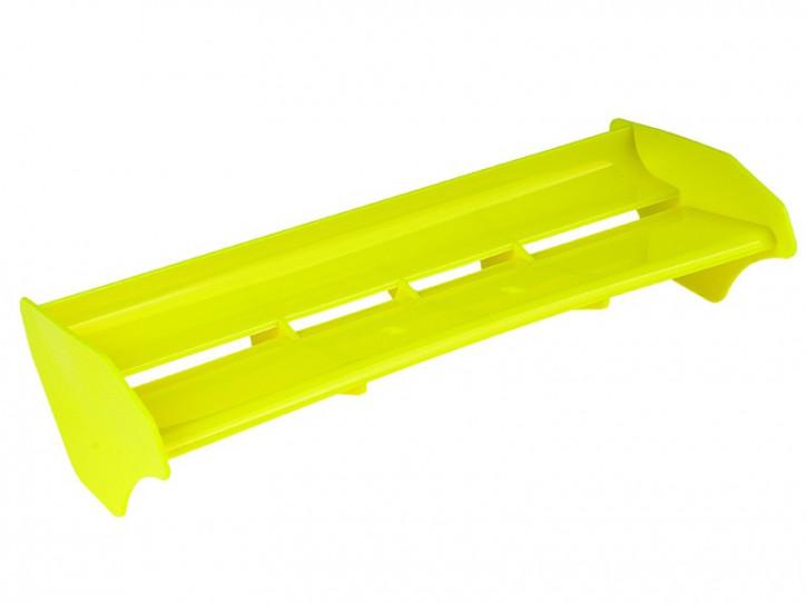 E01039-Mugen MBX-7 Spoiler gelb als gebohrte Ausführung