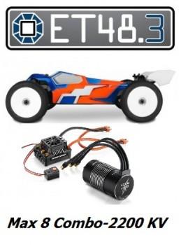 TEKNO ET48.3 + Max 8-2200KV Combo