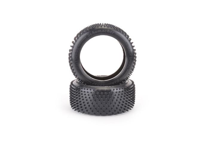 Schumacher Truggy Spiral Reifen -gelb- Kunstrasen