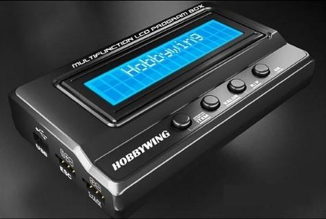 Programmierbox LCD für Hobbywing Xerun, Ezrun und Platinum