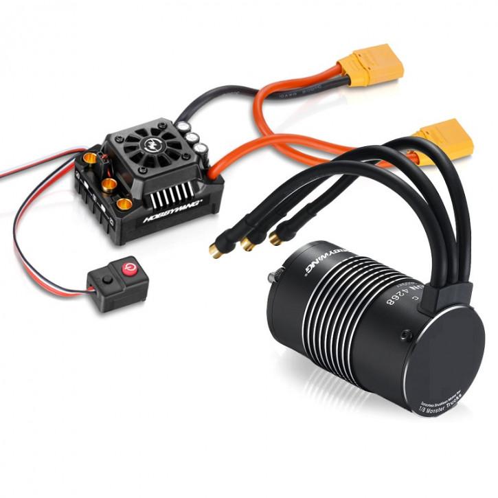 Ezrun MAX8 Combo mit SL-4274-2200kV Sensorless mit XT90-Stecker