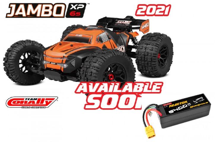 Team Corally jAMBO XP 6S Top Deal mit Akku -Model 2021 - 1/8 Monster Truck LWB - RTR