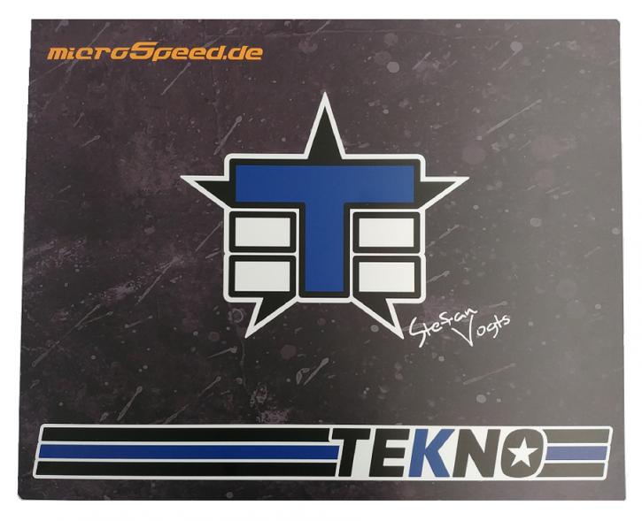 MicroSpeed -Schraub & Setup Board im TEKNO RC Style  (Buggy)