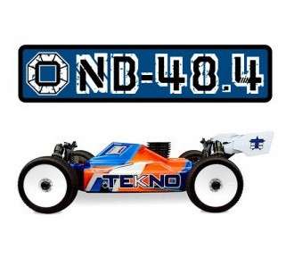 TEKNO NB48.4 1/8th 4WD Competition Nitro Buggy Kit