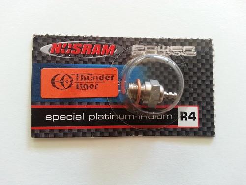 Glühkerze Standard Nosram R4 Platinum-medium