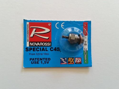 Glühkerze Standard Novarossi  C4S-heiß