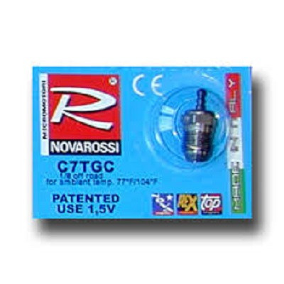 Glühkerze Turbo Novarossi Gold C7TGC-sehr kalt