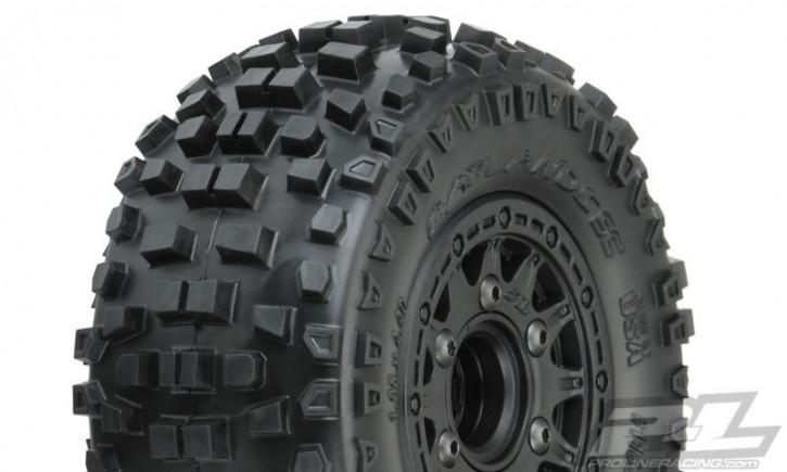 Pro-Line Badlands SC auf Raid Felge schwarz 6x30 SK wchlbar XTR 2.2/3.0 (TRX Slash 2WD + 4x4 v/h