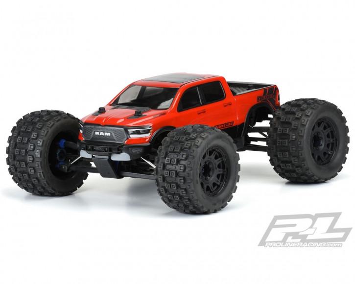 ProLine Ram Rebel 1500 Karo klar Pre-Cut für TRX E-Revo 2.0