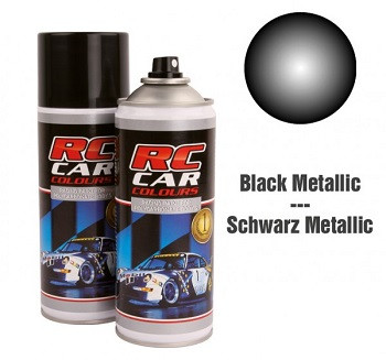 Lexan Spray Metallic Schwarz Nr 935 150ml