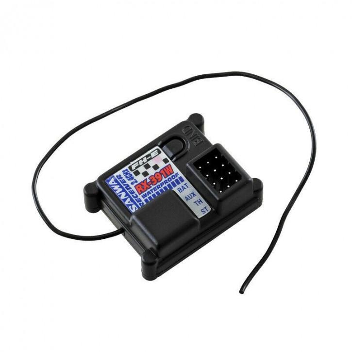 Sanwa RX-391W FH-E waterproof Empfänger 2.4GHz