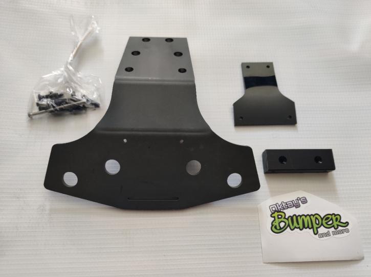 Oktay Bumper 4mm schwarz Tekno MT410/ET48.3
