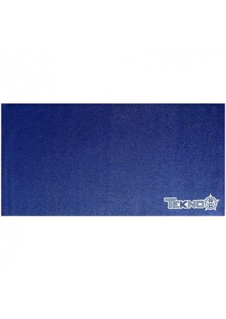 TKR1121-Pit Mat (Tekno RC logo, dark blue,60x120cm